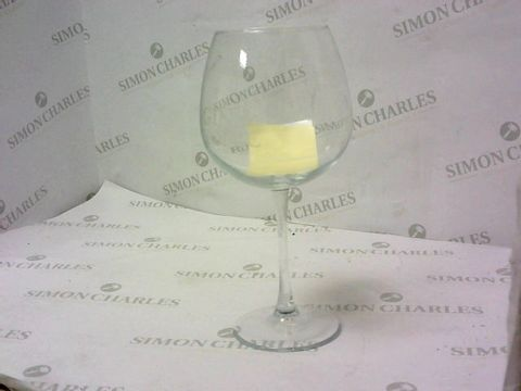 Lot 7241 PERSONALISED LARGE GIN GLASS  RRP £23.99