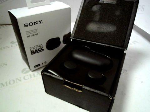 Lot 4078 SONY WF-XB700 TRUE WIRELESS HEADPHONES RRP £169.00