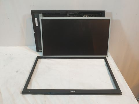 "Lot 689 CELLO 20"" WIDE SCREEN LED TV WITH DVD PLAYER"