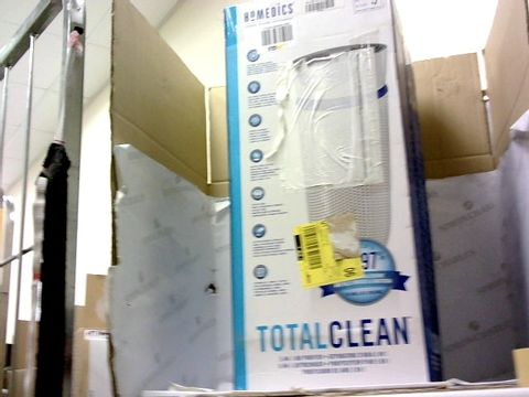 Lot 15484 BOXED HOMEDICS TOTAL CLEAN 5-IN-1 AIR PURIFIER