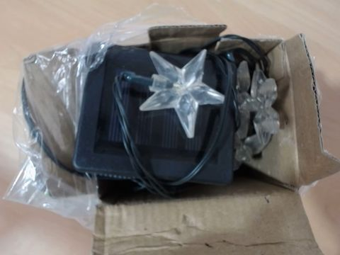 Lot 1036 SMART SOLAR POWERED STAR LIGHTS RRP £16.99