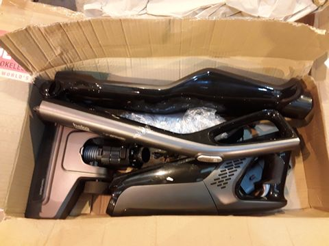 Lot 8059 BEKO CORDLESS ANTHRACITE 2 IN 1 CYCLONIC 21.6V VACUUM CLEANER