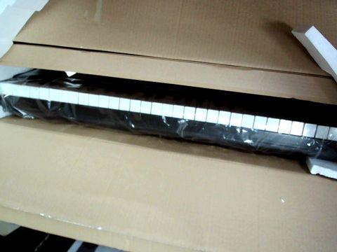 Lot 868 ROCKJAM RJ761-SK KEY ELECTRONIC INTERACTIVE TEACHING PIANO KEYBOARD