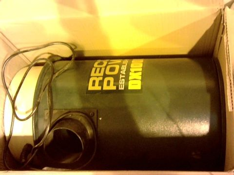 Lot 12161 RECORD POWER DX1000 FINE FILTER 45 LITRE EXTRACTOR