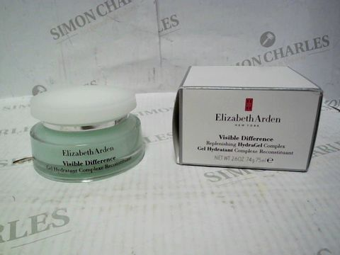 Lot 4402 ELIZABETH ARDEN VISIBLE DIFFERENCE HYDRAGEL COMPLEX 75ML RRP £40.00
