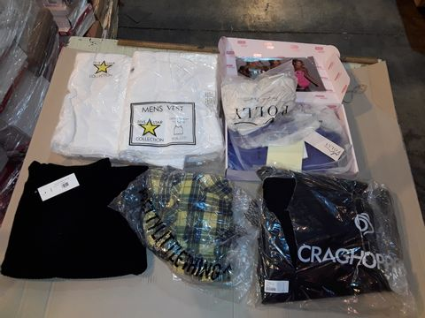 Lot 4043 CAGE OF ASSORTED UNPROCESSED ADULT CLOTHING ITEMS