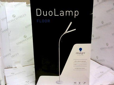 Lot 7 DAYLIGHT COMPANY DN1530 DUO FLOOR LAMP