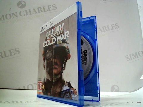 Lot 4072 CALL OF DUTY BLACK OPS COLD WAR FOR PS5 RRP £80.00