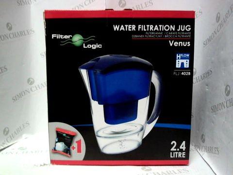 Lot 1001 FILTER LOGIC 2.4L WATER FILTATION JUG