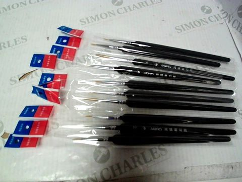 Lot 1205 LOT OF APPROXIMATELY 40 MARIE'S PAINTBRUSHES