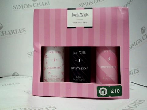 Lot 8108 JACK WILLS BODY SPRAY TRIO - WOMENS