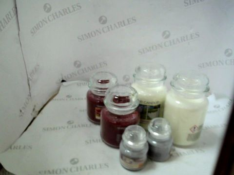 Lot 24 YANKEE CANDLE 6 PIECE ULTIMATE WAX COLLECTION