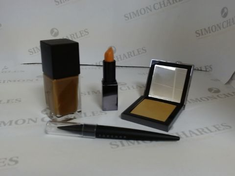 Lot 9460 BOX OF APPROXIMATELY 65 ASSORTED BRAND NEW MAKE UP ITEMS TO INCLUDE MOTHER OF PEARL HIGHLIGHTER, ELATED LIPSTICK, UMBER FOUNDATION, ETC
