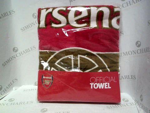 Lot 1025 ARSENAL FOOTBALL CLUB BATH TOWEL