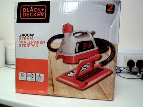 Lot 248 BLACK+DECKER 2400 W WALLPAPER STEAMER STRIPPER