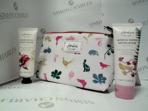 Lot 8106 JOULES - MINI HAND CARE SET - HAND CREAM AND HAND EXFOLIATOR