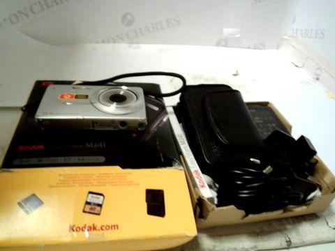 Lot 75 KODAK EASY SHARE M341 COMPACT DIGITAL CAMERA