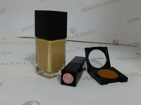 Lot 9444 BOX OF APPROXIMATELY 85 ASSORTED BRAND NEW MAKE UP ITEMS TO INCLUDE MORPH EYESHADOWS, WHIMSICAL LIPSTICKS AND HAZEL FOUNDATIONS