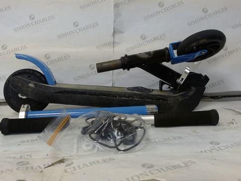 Lot 601 ZINC E4 MAX ELECTRIC SCOOTER - BLUE RRP £163.00