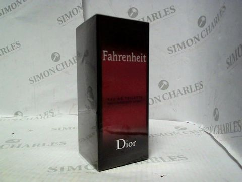 Lot 5067 BRAND NEW AND SEALED DIOR FAHRENHEIT EDT 100ML