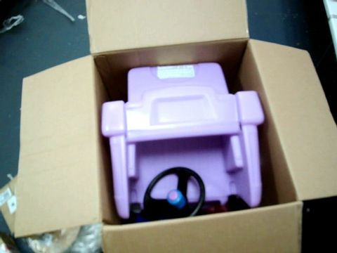 Lot 392 BOXED LITTLE TIKES PRINCESS COZY TRUCK RRP £114.99