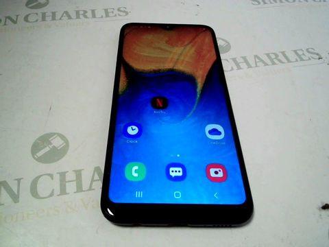 Lot 7302 SAMSUNG GALAXY A20E 32GB ANDROID SMARTPHONE
