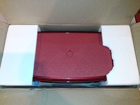 Lot 1158 VIBRAPOWER SLIM 3 ADD-ON SEAT RED