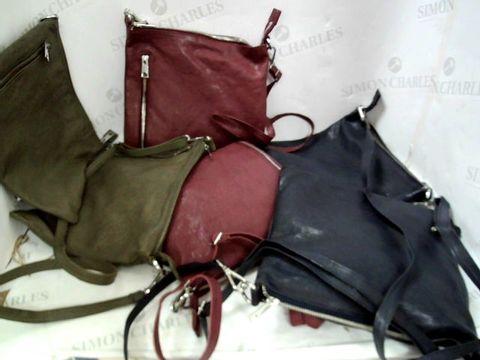 Lot 8360 SIX ASSORTED SHOULDER BAGS