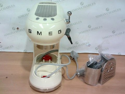 Lot 4093 BOXED SMEG COFFEE MACHINE