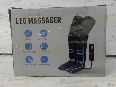 Lot 1122 NOBEBIRD LEG MASSAGER WITH HEAT ON KNEE