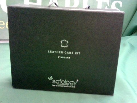 Lot 1078 SOFOLOGY LEATHER CARE KIT - STANDARD
