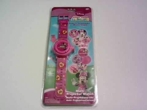 Lot 9258 MINNIE MOUSE MULTI PROJECTOR WATCH