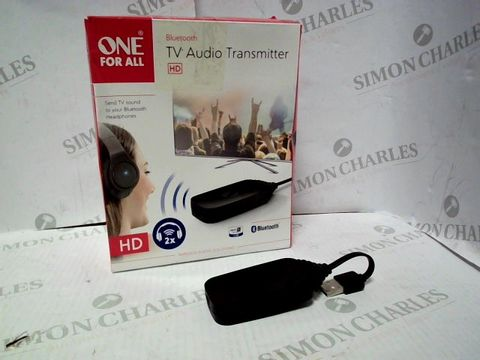 Lot 7063 ONE FOR ALL SV1770 - BLUETOOTH TV AUDIO TRANSMITTER