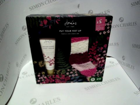 Lot 9207 JOULES PUT YOUR FEET UP GIFT SET