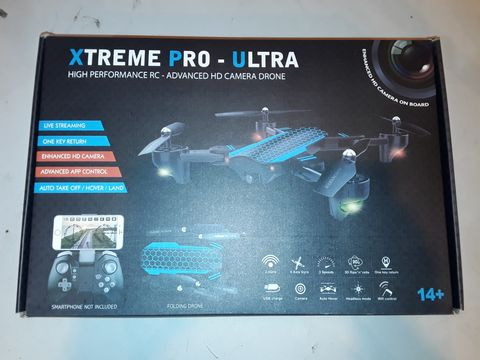 Lot 1078 XTREME PRO-ULTRA HIGH PERFORMANCE HD CAMERA DRONE