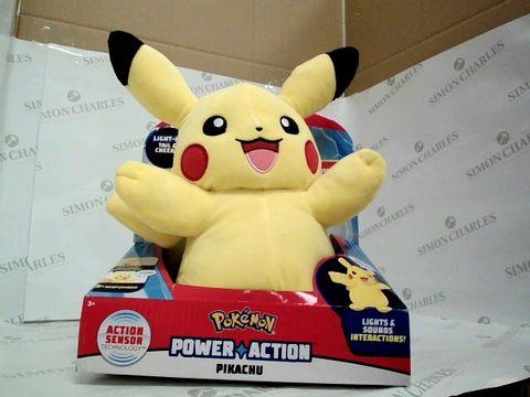 Lot 7436 POKEMON POWER ACTION PIKACHU  RRP £37.99