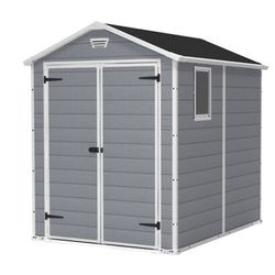 Lot 7101 BOXED KETER MAINTAINANCE FREE SHED 6 × 8