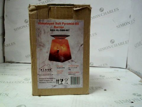 Lot 154 HIMALAYAN SALT PYRAMID OIL BURNER