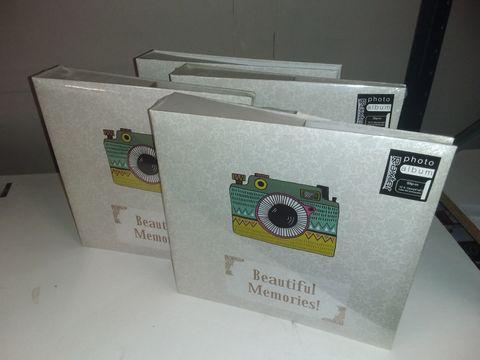 Lot 1136 LOT OF 4 RAXTER BEAUTIFUL MEMORIES PHOTO ALBUMS