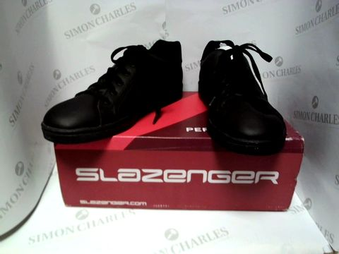 Lot 13044 BOXED PAIR OF DESIGNER SLAZENGER - UK SIZE 8.5