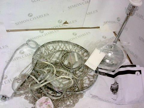 Lot 121 MICHELLE KEEGAN HOME ANGEL TABLE LAMP RRP £49.99