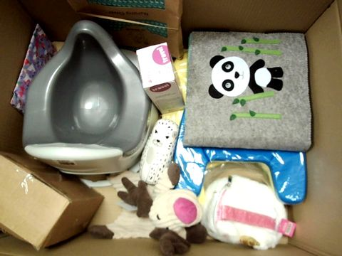 Lot 146 AA LARGE BOX OF ASSORTED BABY AND CHILDRENS ITEMS