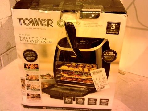 Lot 12116 TOWER 5-IN-1 DIGITAL AIR FRYER OVEN