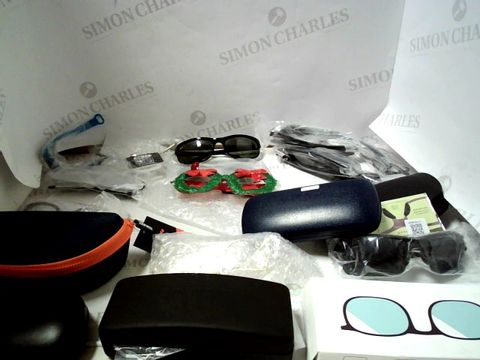 Lot 8274 LOT OF APPROXIMATELY 40 ASSORTED EYEWEAR ITEMS TO INCLUDE; SPECTACLES, SUNGLASSES ETC