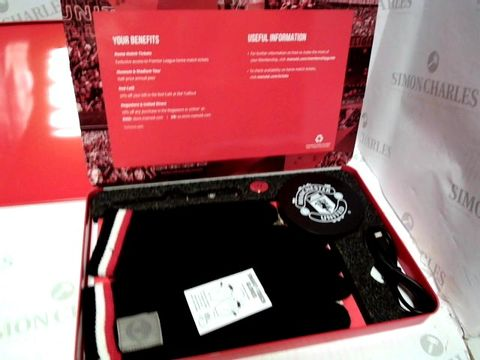 Lot 58 MANCHESTER UNITED OFFICIAL MEMBERSHIP GIFT PACK