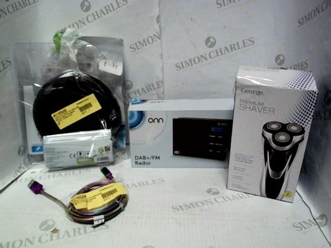 Lot 8122 LOT OF APPROXIMATELY 10 ASSORTED ELECTRICAL ITEMS, TO INCLUDE PHONE CHARGER, DAB+ RADIO, PERSONAL CD PLAYER, ETC