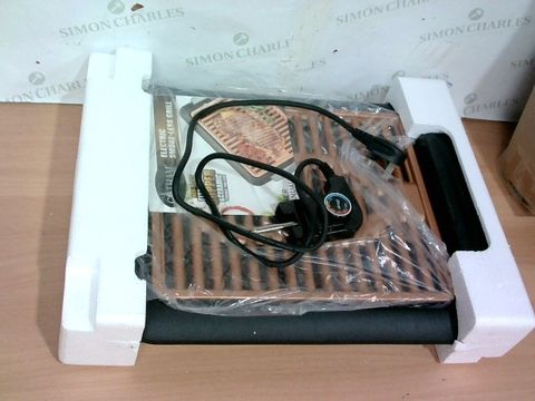 Lot 4111 GOTHAM STEEL COPPER NON-STICK ELECTRIC INDOOR GRILL