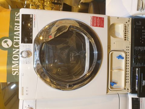 Lot 7015 HOOVER DXC8TCE 8KG CONDENSER TUMBLE DRYER - WHITE