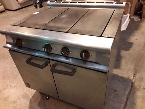 Lot 545 FALCON ELECTRIC RANGE WITH 3 SECTION SOLID HOB & DOUBLE DOOR OVEN