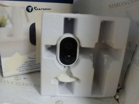 Lot 7556 SWANN ALERT INDOOR SECURITY CAMERA